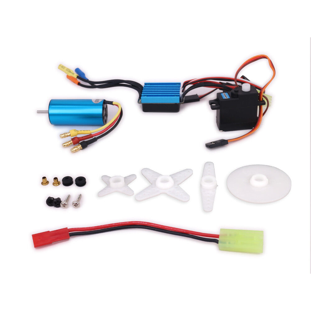 New 4800kv Brushless Kit Motor Esc Speed Controller Servo