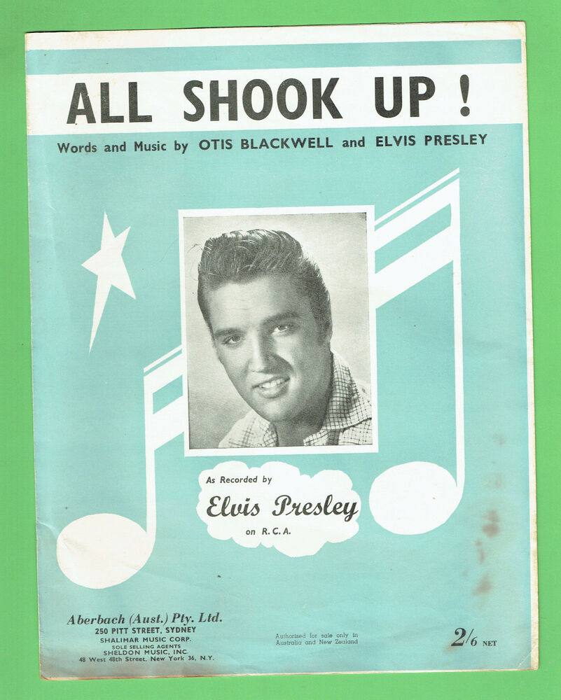 all shook up song elvis Subscribe to google play music and listen to this song and millions of other songs i'm in love i'm all shook up mm mm mm written by elvis presley.