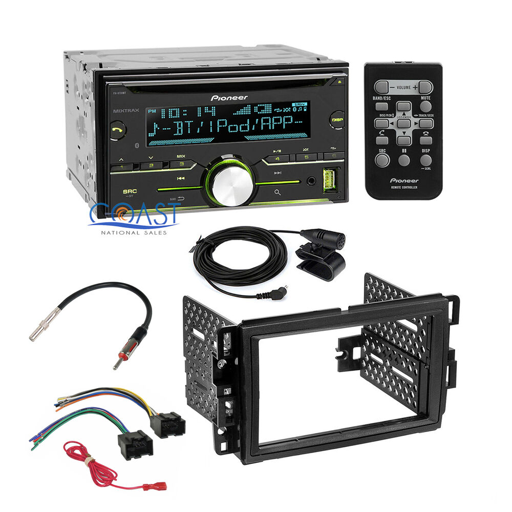 pioneer radio stereo dash kit wire harness for 06 up gm