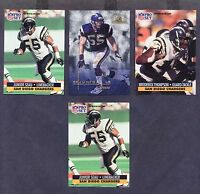 JUNIOR SEAU (11) CARD LOT-(2) 1991 PRO SET #645-SAN DIEGO CHARGERS-NRMT/NRMT+