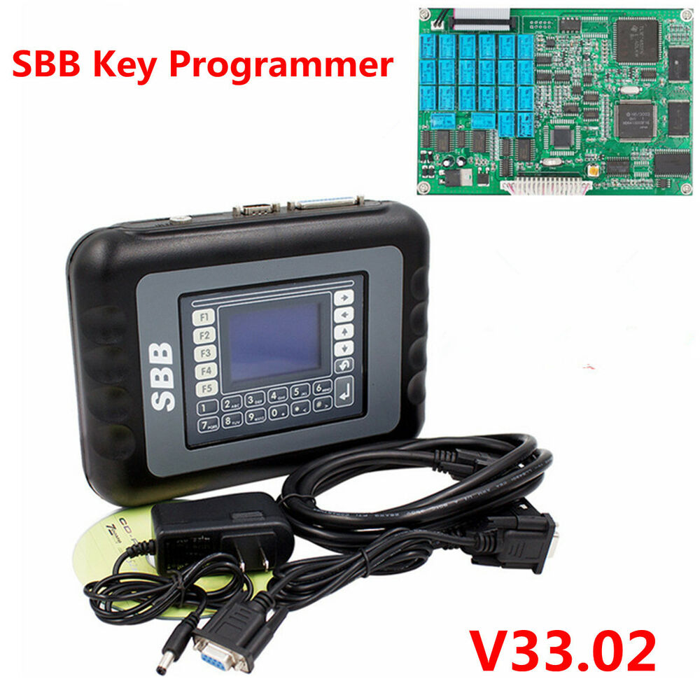 Sbb Key Programmer Immobilizer V33 02 For Multi Brands