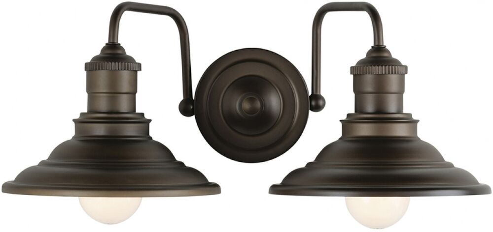 Rustic bathroom vanity double light fixture aged bronze Rustic bathroom vanity light fixtures