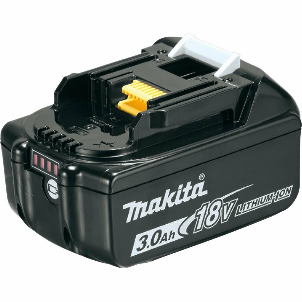 makita bl1830b 18 v 18 volt lithium ion 3ah battery bl1830 replacement w gauge ebay. Black Bedroom Furniture Sets. Home Design Ideas