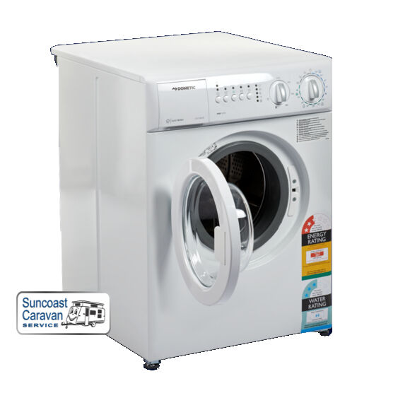 Dometic 240v 3kg space saver washing machine caravans motorhomes boats ebay - Washing machine for small spaces gallery ...