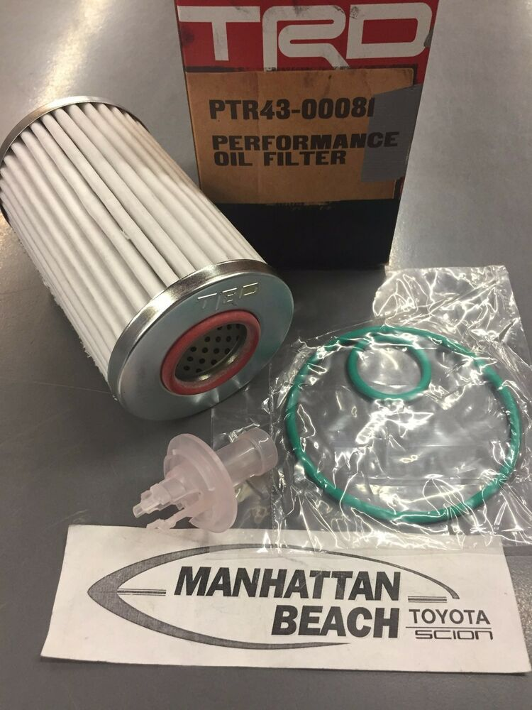 High Performance Trd Oil Filter Toyota Tundra Sequoia Land