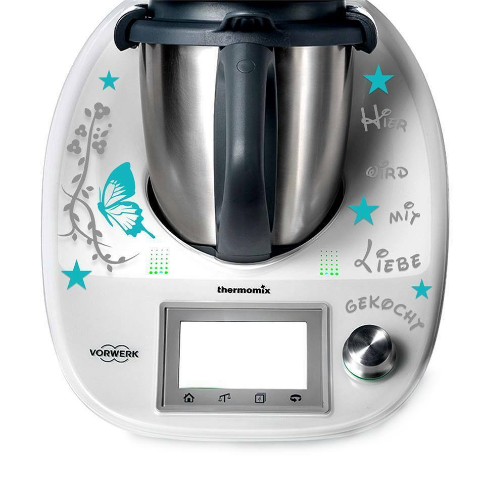 tm5 thermomix autocollant sticker beaucoup de motifs vorwerk robot de cuisine ebay. Black Bedroom Furniture Sets. Home Design Ideas