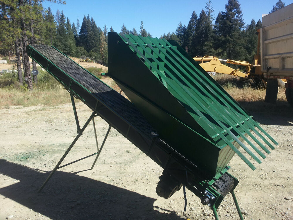 Feed Hopper Conveyor W Grizzly Shop Built For Gold
