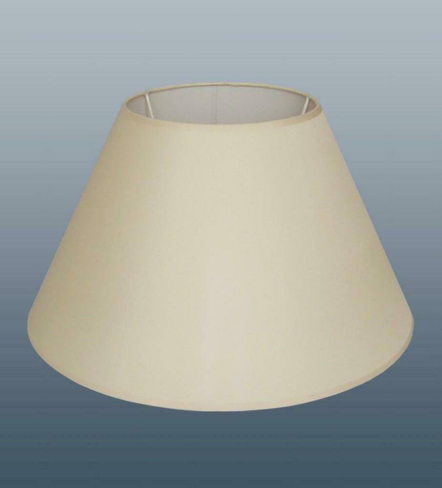 40cm or 16 inch cotton coolie cream lampshade table lamp With table lamp shades 40cm