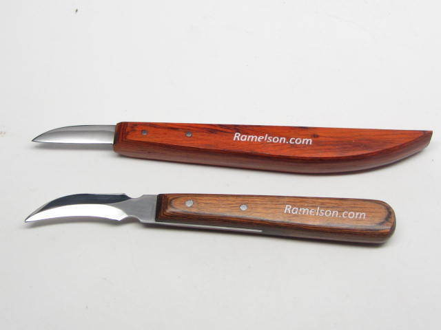 Pc wood carving knife set luthier whittling decoy