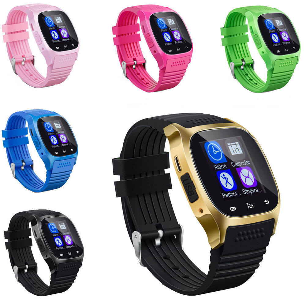 Bluetooth Smart Wrist Watch Phone Mate For IOS Android ...