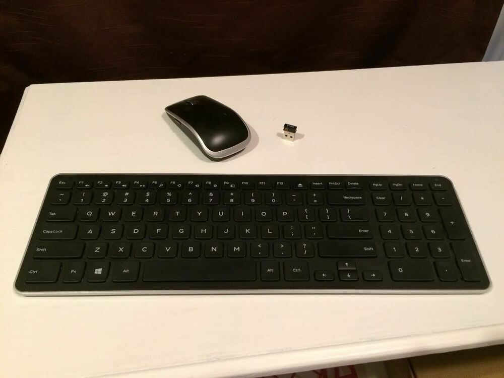 dell km714 keyboard and mouse combo ebay. Black Bedroom Furniture Sets. Home Design Ideas