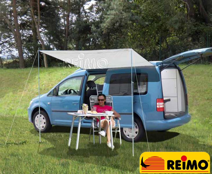 reimo charlyne 1 8m swb sun canopy awning for caddy