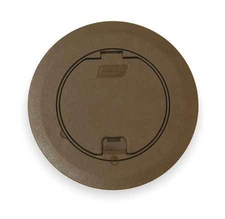 Floor Box Cover Round 6 3 4 In Brown Steel City 68r Cst