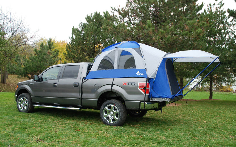 napier sportz truck tent for toyota tacoma 5 foot compact bed camping 57066 ebay. Black Bedroom Furniture Sets. Home Design Ideas