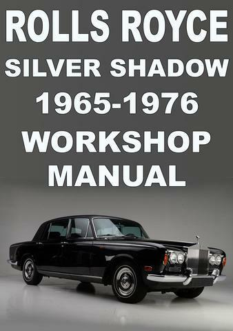 s l1000 rolls royce silver shadow 1965 1976 workshop manual ebay rolls royce silver shadow fuse box diagram at edmiracle.co