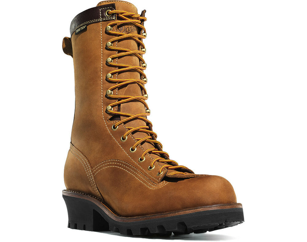 Danner 14573 Plain Toe 10 Quot Quarry Logger Gore Tex Boot