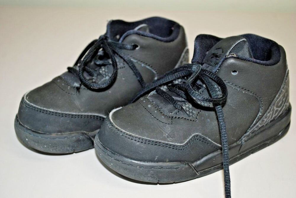 Details about Nike Air Jordan Flight Origin 2 Sneakers TODDLER BOYS SIZE 7C  SHOES - Black Gray 763e9ccd5