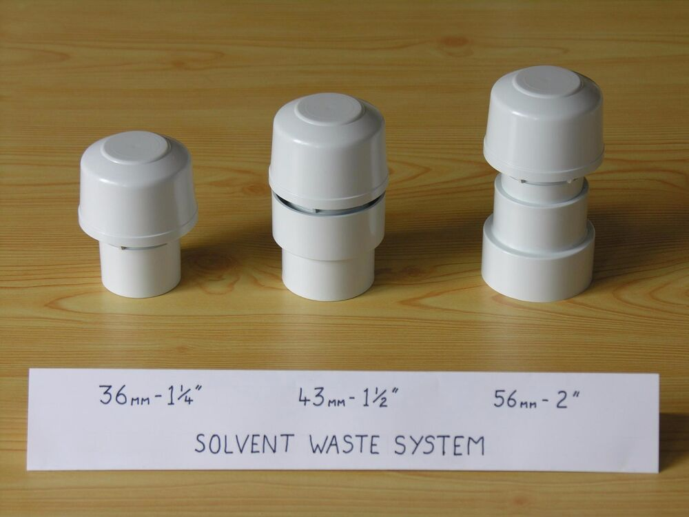 Small Air Admittance Valves For Sink Waste Etc Ebay