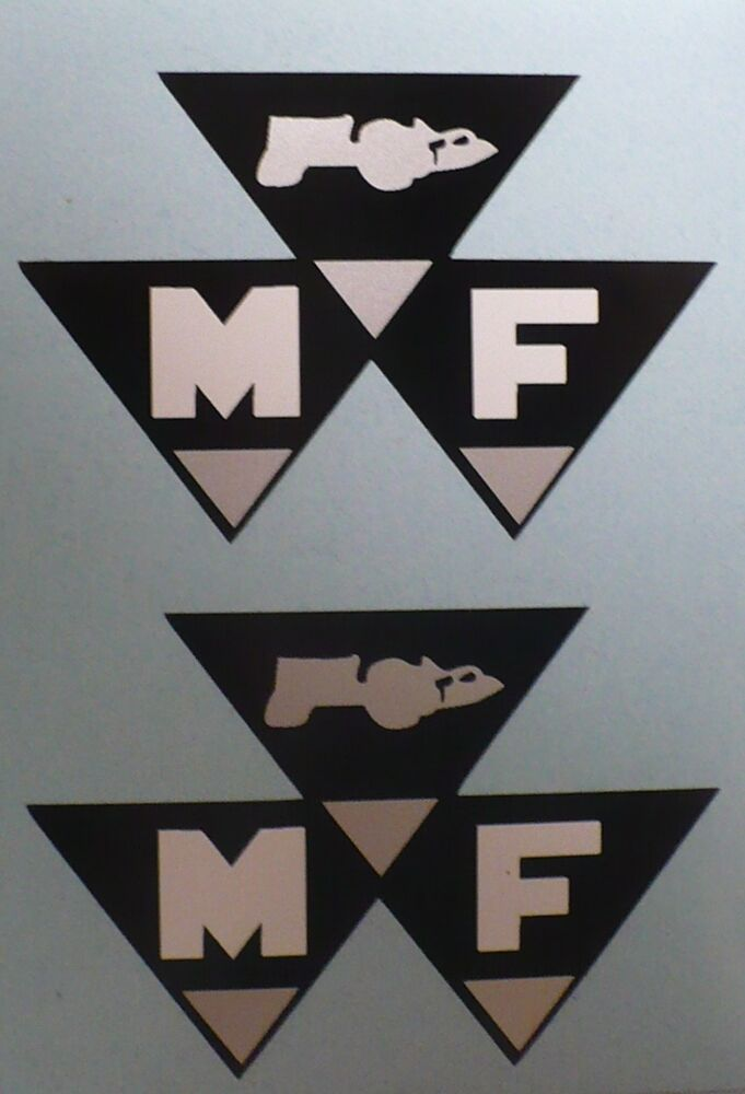 Mf Tractor Decals : Mf decal for red massey ferguson pedal tractor wagon