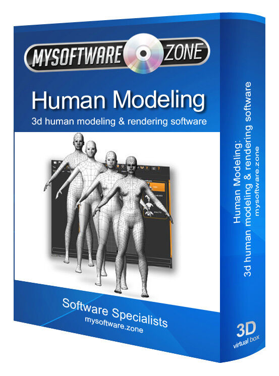 3d Human Modeling And Animation Software For Pc And Mac Ebay