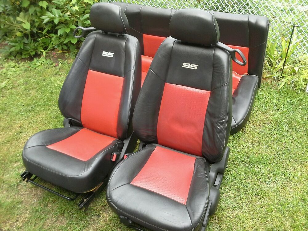 2005 2010 Chevy Cobalt Ss Front Amp Rear Leather Seats Oem