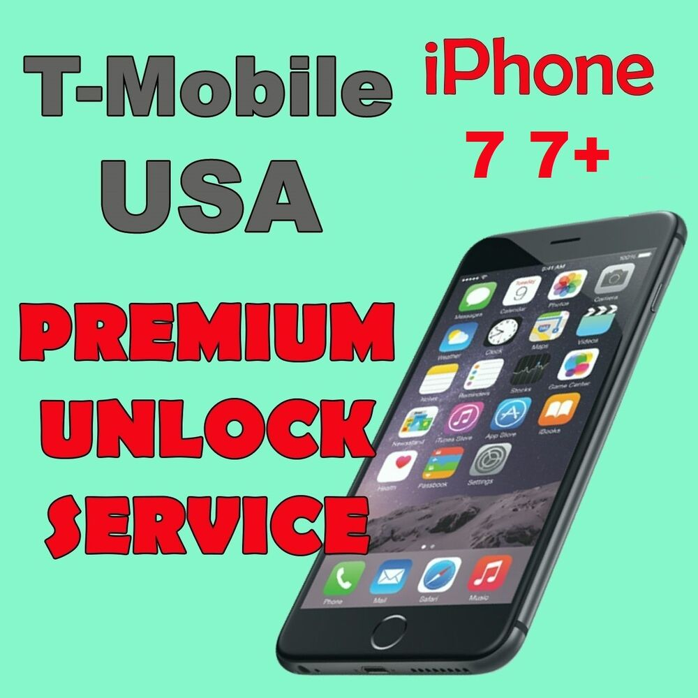 unlock t mobile iphone premium unlock service t mobile usa iphone 7 7 all imei 2046