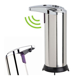 Kyпить Stainless Steel Touchless Handsfree Automatic IR Sensor Soap Liquid Dispenser X на еВаy.соm