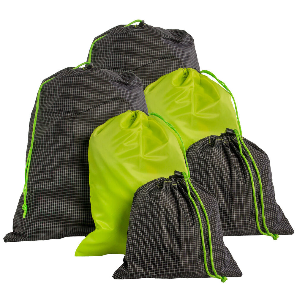 Large Bag Drawstring Storage Pouch Items Carrying Sack Clothes Organizer