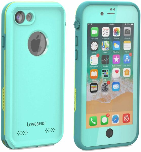 Heavy Cover For iPhone 8 Plus Case Built-in screen protector Shock Waterproof