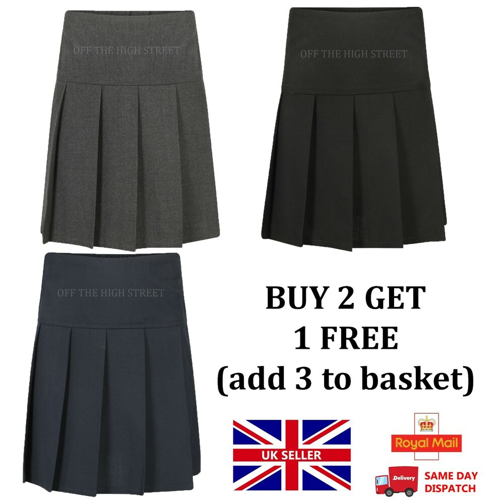 new pleated school skirt school 2yrs to