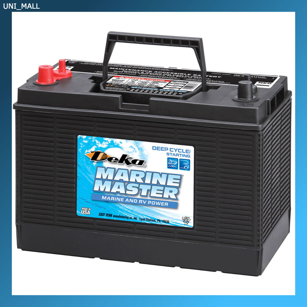 Interstate Deep Cycle Marine Battery >> DEKA GENUINE NEW DP31DT Marine Deep Cycle/Starting Battery ...