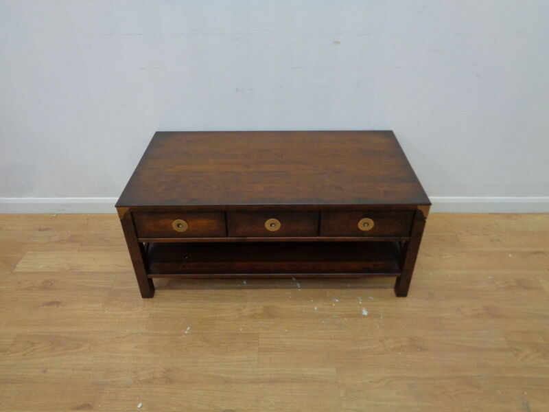 Laura Ashley Balmoral Coffee Table In Chestnut Qa2801170664 Ebay