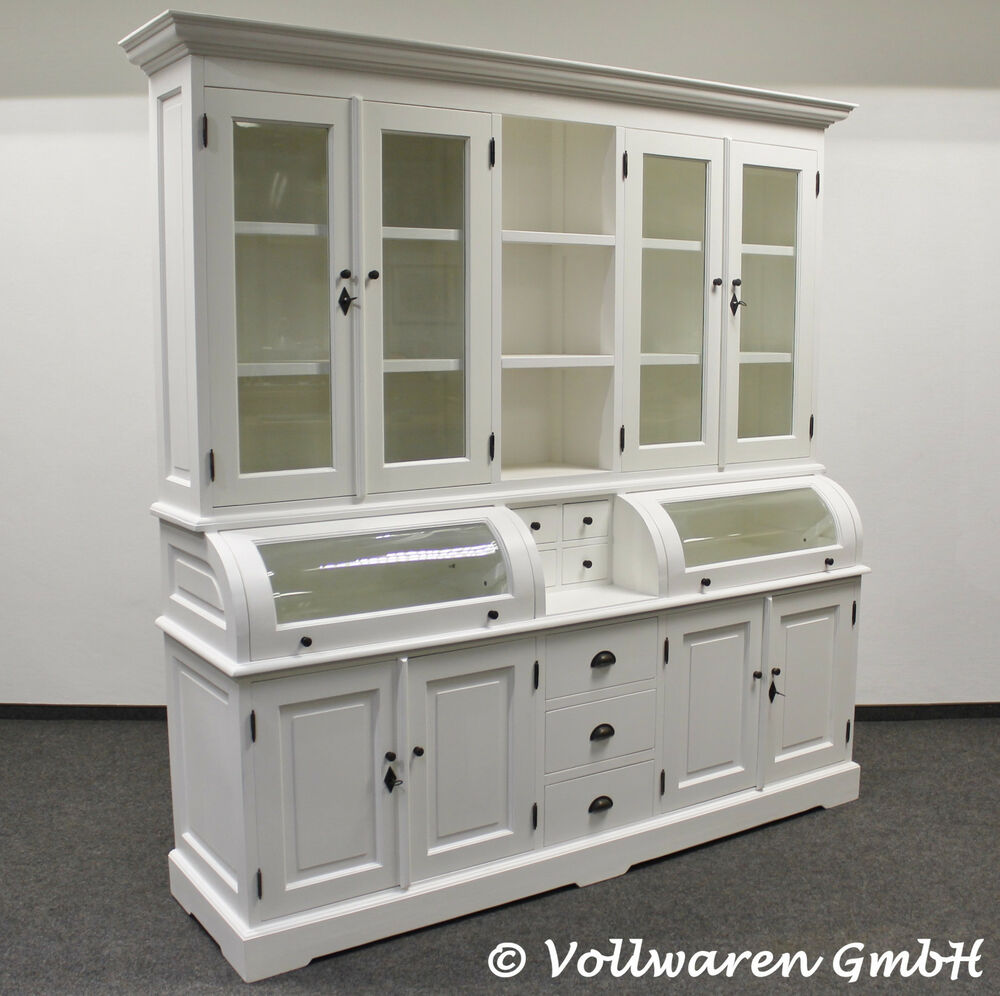 vintage landhaus buffet britagne 2m handpainted hochglanz. Black Bedroom Furniture Sets. Home Design Ideas