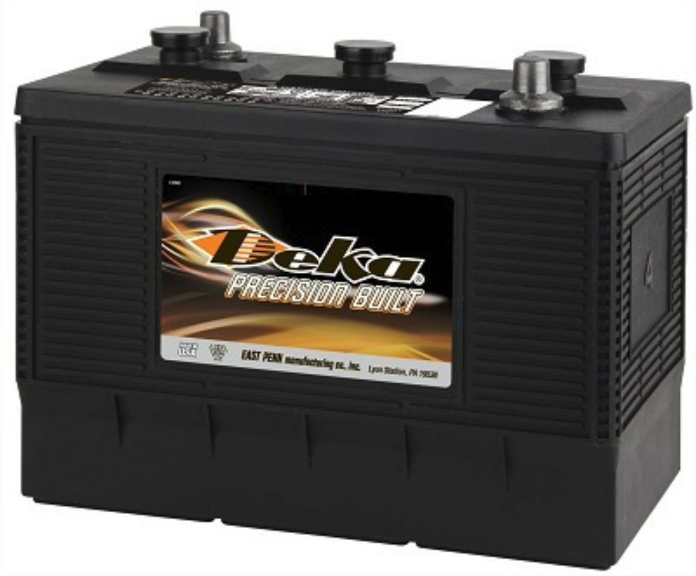 deka genuine new 904mf 6 volt heavy duty battery 1200amp cranking power ebay. Black Bedroom Furniture Sets. Home Design Ideas