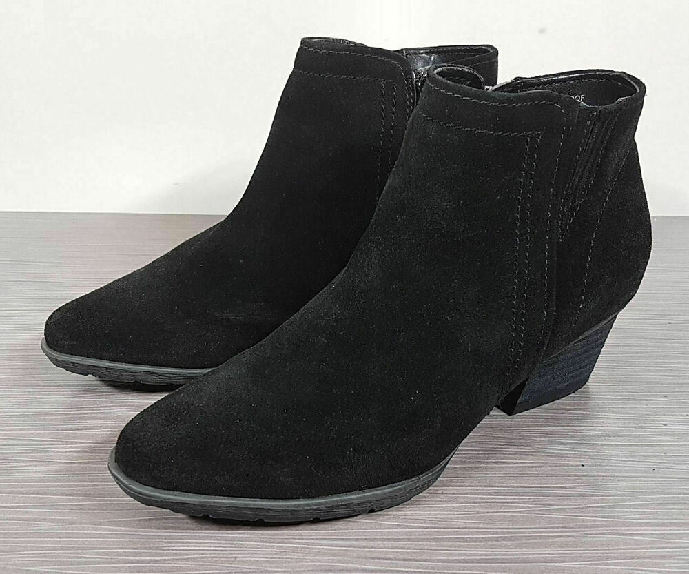 ab50953e1 Details about Blondo 'Valli' Waterproof Bootie, Black Suede, Womens Various  Sizes