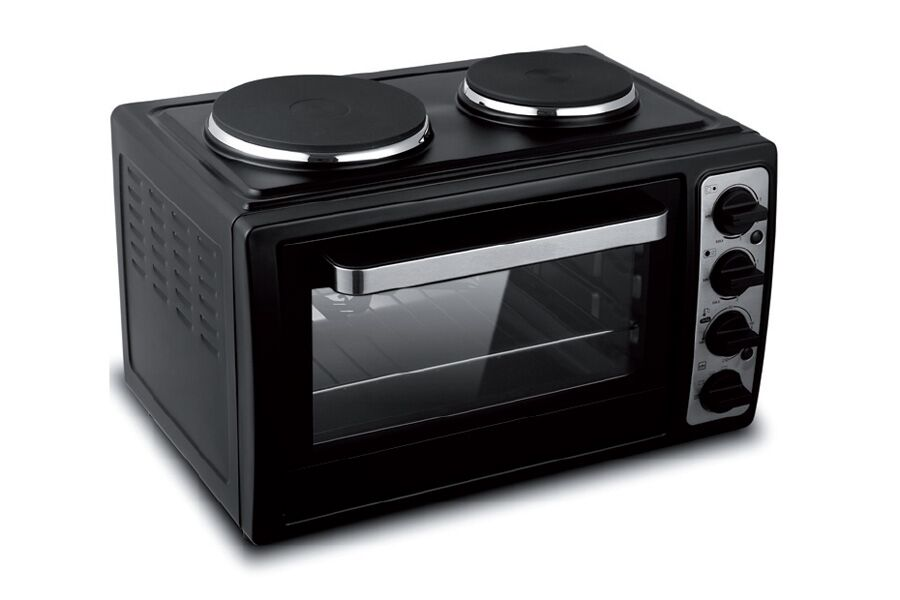 Table Top Ovens Electric ~ New giani black l electric w oven table top space