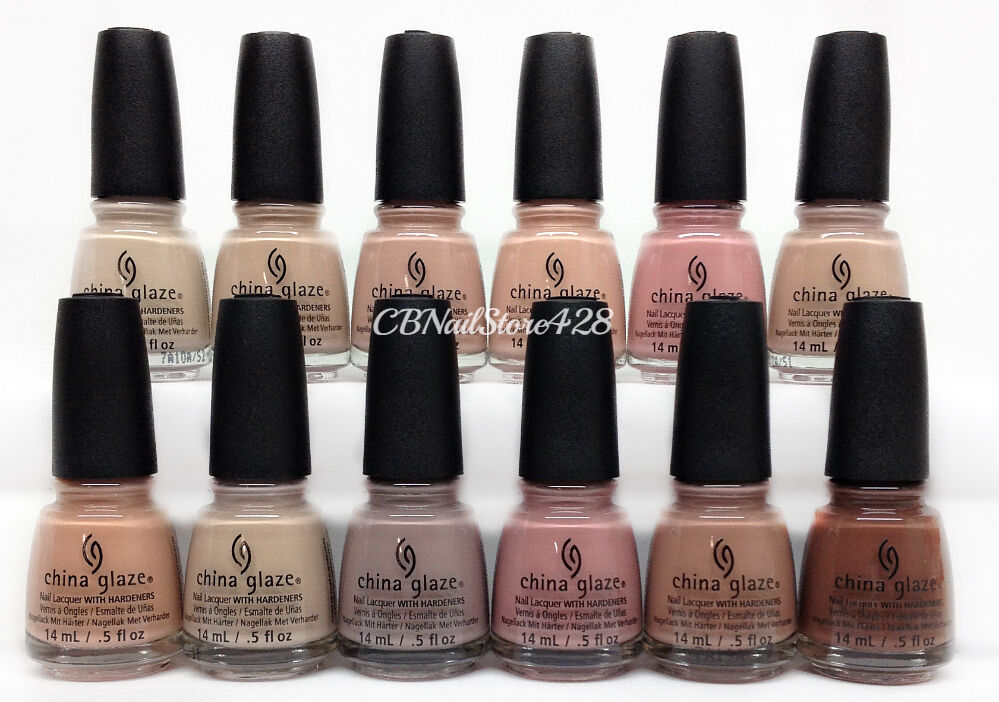China Glaze Nail Lacquer - SHADES OF NUDE Spring\'17 Collection ...
