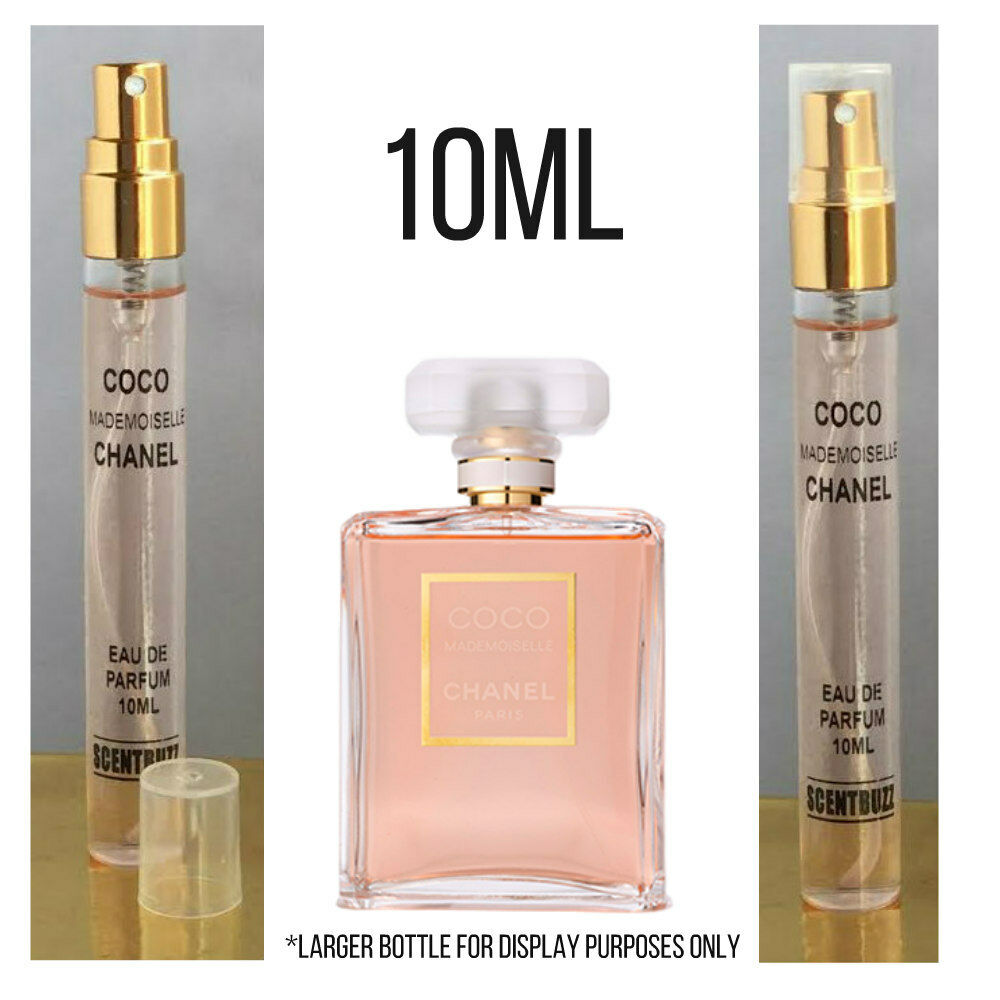 10ml glass jumbo sample of chanel coco mademoiselle edp perfume 180 sprays ebay. Black Bedroom Furniture Sets. Home Design Ideas