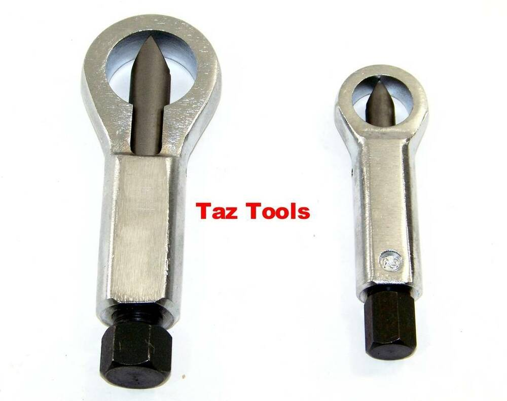 2 Pc Nut Splitter Nut Cutter Damage Nut Remover Cutter