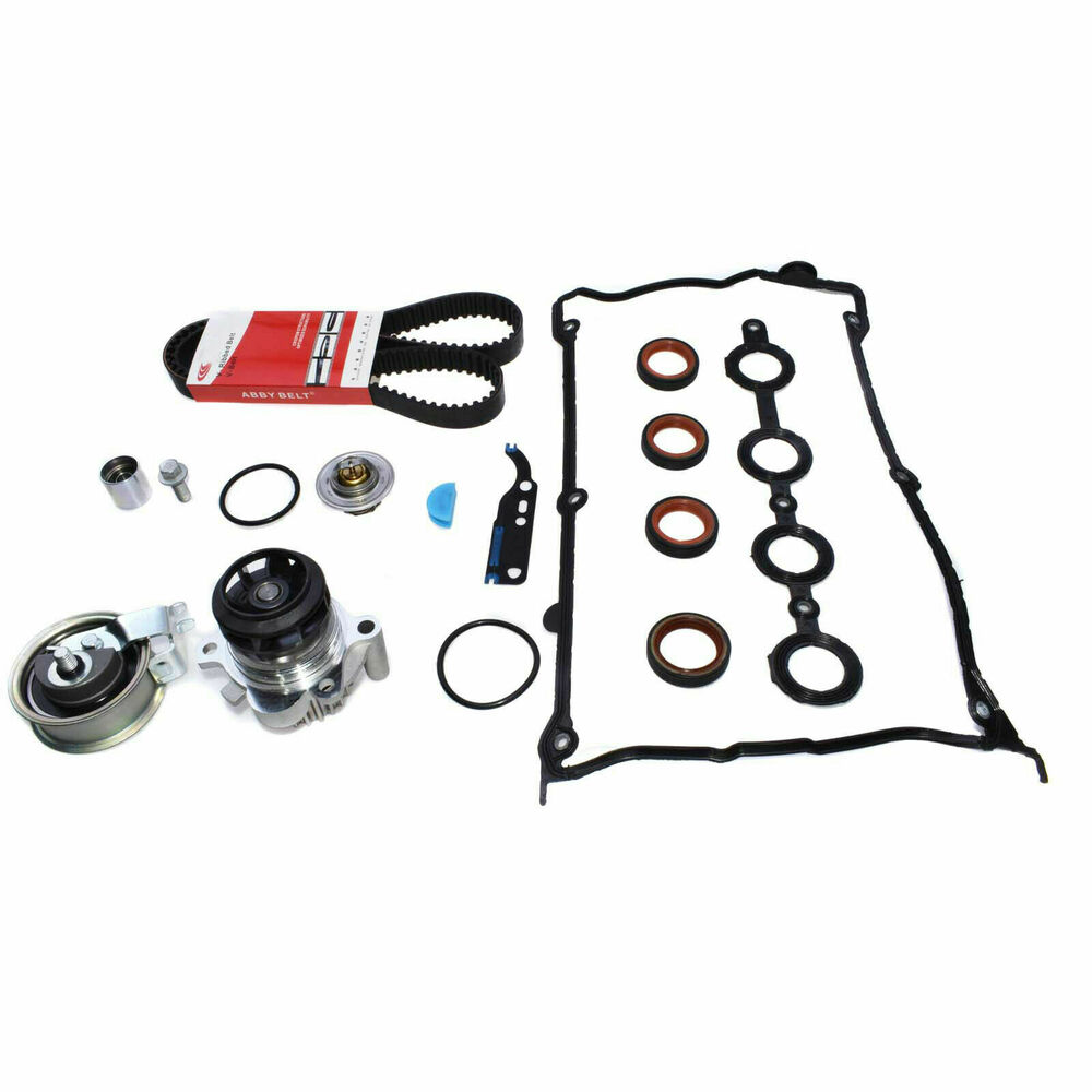 For Audi Vw 18t Timing Belt Water Pump Valve Cover Gasket Jetta 1 8t Thermostat Kit New Ebay