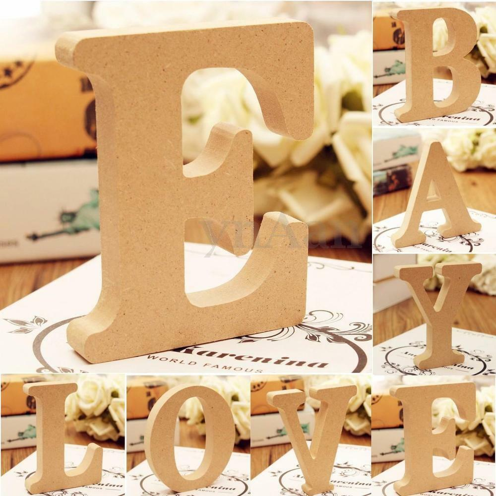 hanging wooden letters freestanding a z wood wooden letters hanging wedding home 22080 | s l1000