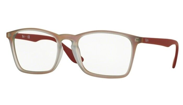 6e0baaeaf5 RAY-BAN RB 7045 5485 RED EYEGLASSES AUTHENTIC FRAMES RX RB7045 55-18 ...