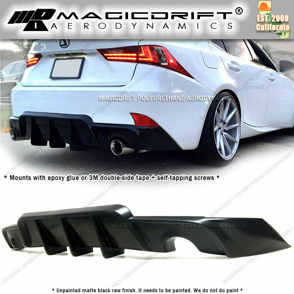 Made For 14 16 Lexus Is250 Is350 Jdm Aw Walker Rear