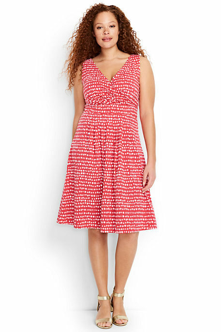 Try our Women's Sleeveless Fit and Flare Dress at Lands' End. Everything we sell is Guaranteed. Period.® Since