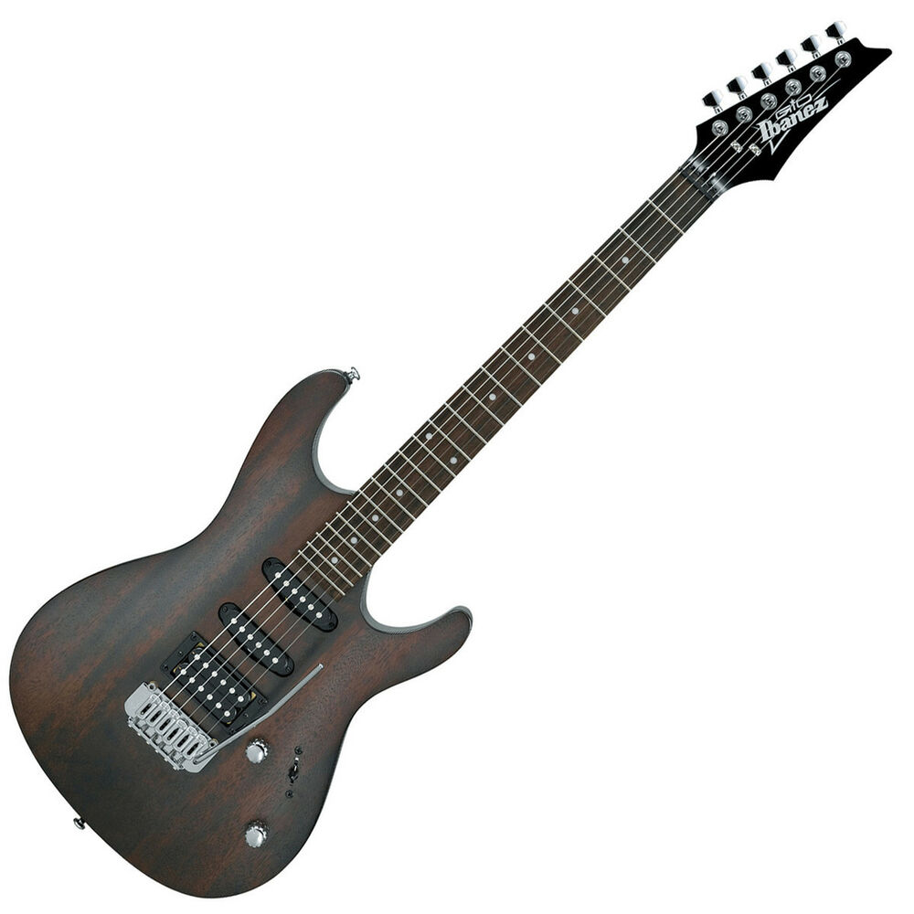 ibanez gsa60 wnf electric guitar walnut flat ebay. Black Bedroom Furniture Sets. Home Design Ideas