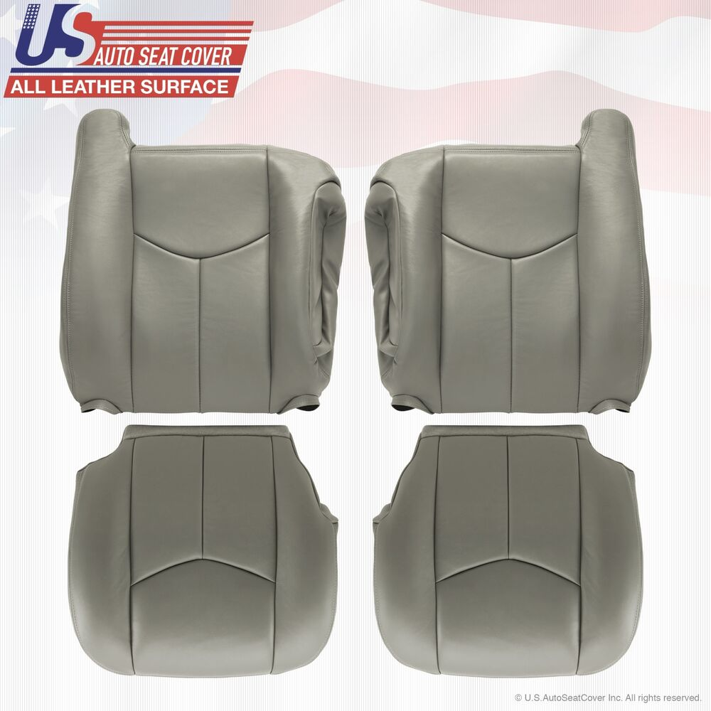 Suburban 9 Seats >> 2003 To 2006 Chevy Suburban Upholstery leather seat cover Replacement Gray 922 | eBay