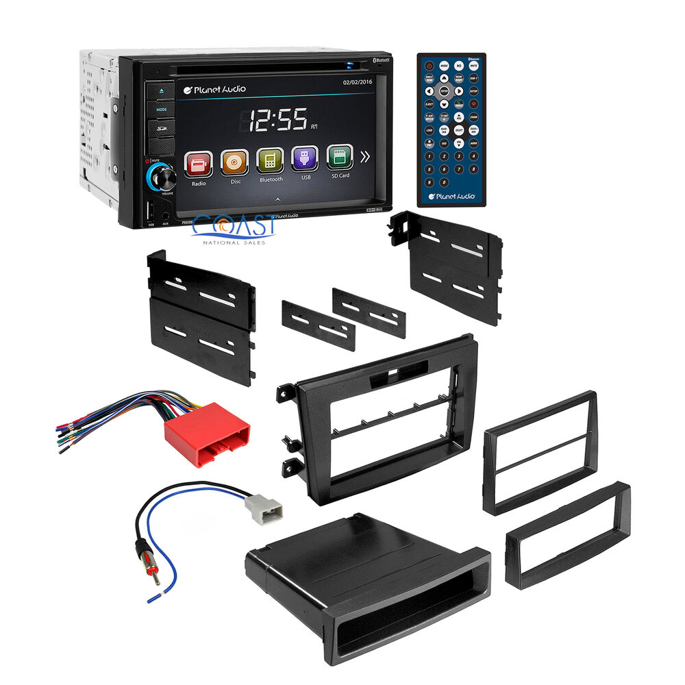 Planet Audio Car Radio Stereo Dash Kit Wiring Harness For