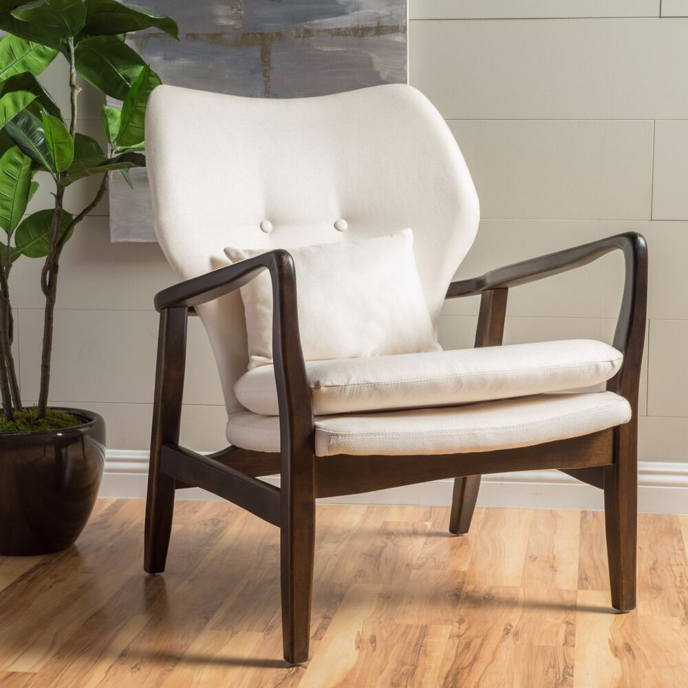 Ventura mid century modern design bentwood upholstered for Mid century modern upholstered chair