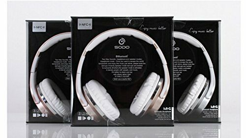 cc07465ecd6 SODO MH1 2 in 1 Bluetooth 4.2 Over-Ear Headset Headphone Speaker TF FM  Radio TEQ | eBay