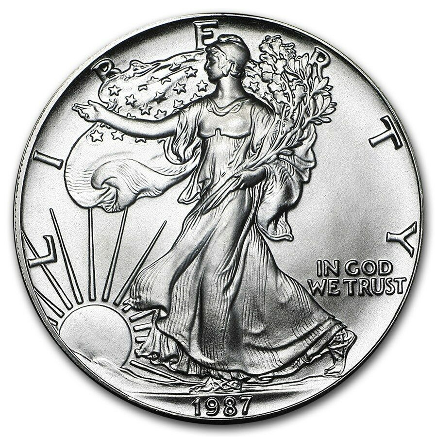 1 1987 American Silver Eagle United States Mint